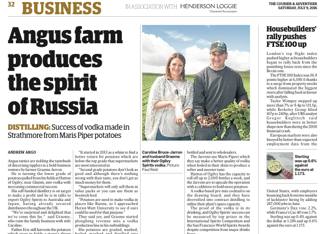 Angus farm produces the spirit of Russia | News